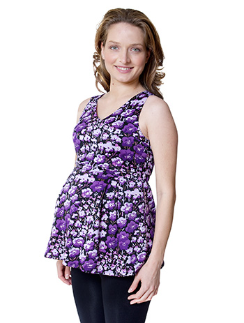 EMF-reducing maternity tank top